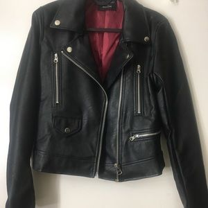 small love tree leather jacket (faux)